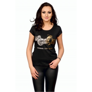 T-shirt damski Golden Silver - Choppers Division