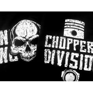 Zestaw Bluz 290 Skull Piston Czarny- Choppers Division