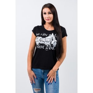 T-shirt damski Lone Wolf - Choppers Division