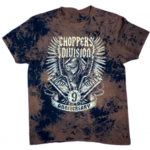 9 Urodziny - T-shirt Trawiony - Choppers Division