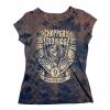 9 Urodziny - Damski T-shirt Trawiony - Choppers Division