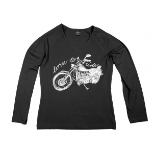 Longsleeve Damski - Born to Ride - Choppers Division