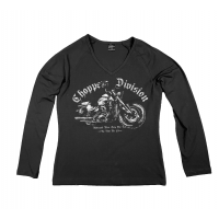 Longsleeve Damski - Motocykl Marca'20 - Choppers Division