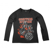 Longsleeve Damski - Lone Wolf - Choppers Division