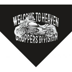 Chusta Welcome to Heaven - Choppers Division