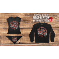 Damski Mega Zestaw Motocykl Listopada'20