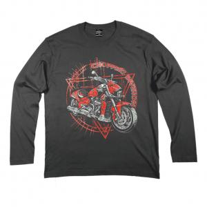 Longsleeve Męski Motocykl Listopada'20