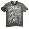 T-shirt khaki Label  - Choppers Division