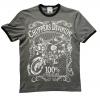T-shirt khaki Label  - Choppers Division