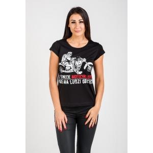T-shirt damski Świat Motocyklistów - Choppers Division