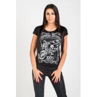 T-shirt damski Label