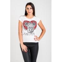 T-shirt damski Heart - Choppers Division